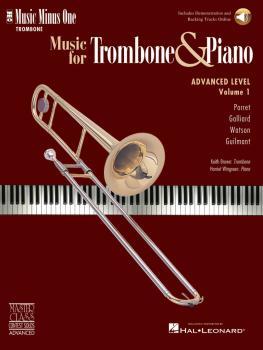 Advanced Trombone Solos, Volume 1 (for Trombone) (HL-00400694)