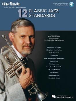 12 Classic Jazz Standards: Music Minus One B-flat, E-flat and Bass Cle (HL-00400765)