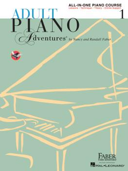 Adult Piano Adventures All-in-One Piano Course Book 1: Book with Media (HL-00420242)