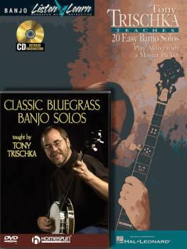 Tony Trischka - Banjo Bundle Pack: Tony Trischka Teaches 20 Easy Banjo (HL-00642060)