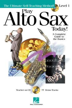 Play Alto Sax Today! - Level 1 (Play Today Plus Pack) (HL-00699492)