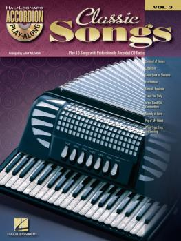 Classic Songs: Accordion Play-Along Volume 3 (HL-00701707)