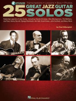 25 Great Jazz Guitar Solos: Transcriptions · Lessons · Bios · Photos (HL-00703668)