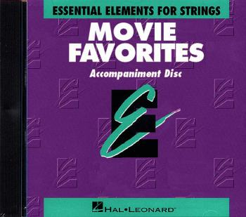 Essential Elements Movie Favorites for Strings (CD Accompaniment) (HL-00868027)