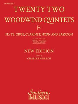 22 Woodwind Quintets - New Edition (Horn Part) (HL-03770293)