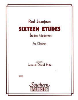 16 Etudes (Clarinet) (HL-03770901)