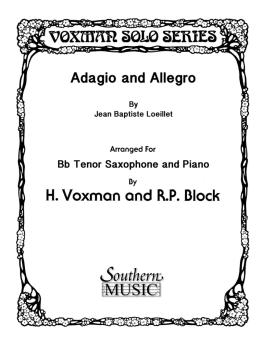 Adagio and Allegro (Tenor Sax) (HL-03775575)