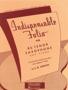 Indispensable Folio - Bb Tenor Saxophone and Piano (HL-04471960)