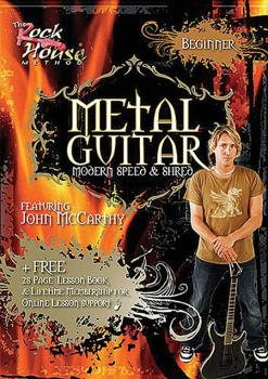 John McCarthy - Metal Guitar: Beginner Level -¦Modern Speed & Shred (HL-14027256)