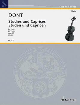 Etudes and Caprices, Op. 35 (Violin and Piano) (HL-49006032)