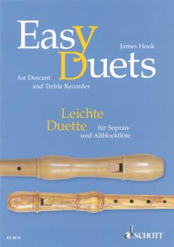 Easy Duets (for Soprano and Treble Recorder) (HL-49008197)