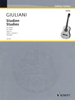 Studies for Guitar, Op. 1a - Volume 1 (HL-49010786)