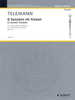 6 Sonatas in Canon, Op. 5 (for 2 Treble Recorders Flutes - Performance (HL-49011401)