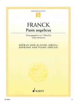 Panis Angelicus: Soprano and Piano or Organ (HL-49017565)