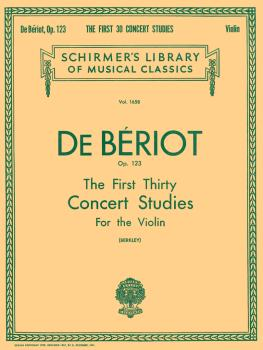 First 30 Concert Studies, Op. 123 (Violin Solo) (HL-50260790)