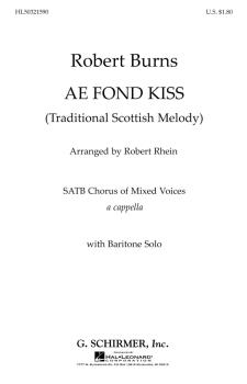 Ae Fond Kiss W/Bar Solo (HL-50321590)
