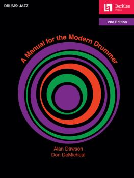 A Manual for the Modern Drummer - 2nd Edition (HL-50449560)