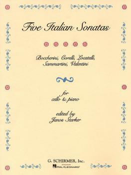 5 Italian Sonatas (Cello and Piano) (HL-50480052)