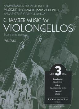 Chamber Music for Four Violoncellos - Volume 3 (Score and Parts) (HL-50485574)
