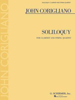Soliloquy (for Clarinet and String Quartet) (HL-50600931)