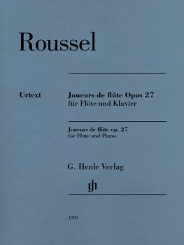 Joueurs de Flute, Op. 27 (Flute and Piano) (HL-51481092)
