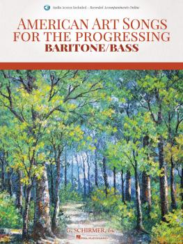 American Art Songs for the Progressing Singer - Baritone/Bass (With On (HL-50600849)