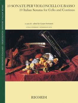 10 Italian Sonatas (Cello and Continuo) (HL-50601023)