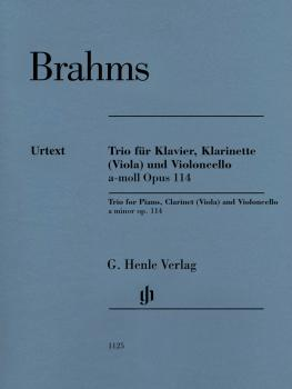 Trio in A Minor, Op. 114 - Revised Edition (for Piano, Clarinet Viola  (HL-51481125)