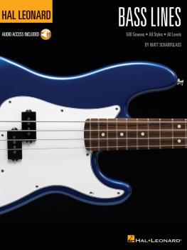 Bass Lines: Hal Leonard Bass Method 500 Grooves · All Styles · All Lev (HL-00148194)