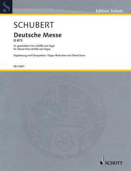 German Mass, D 872 (for SATB and Organ) (HL-49045399)