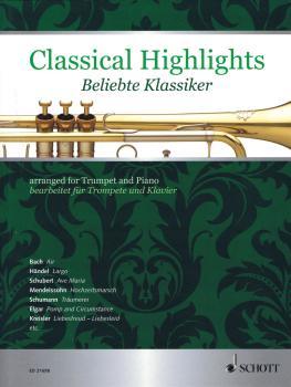 Classical Highlights [Beliebte Klassiker] (Arranged for Trumpet and Pi (HL-49019908)