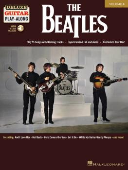 The Beatles: Deluxe Guitar Play-Along Volume 4 (HL-00244968)