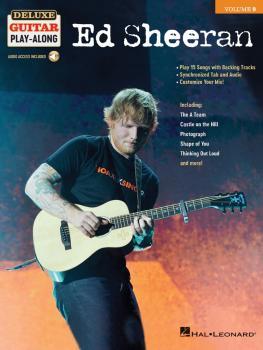 Ed Sheeran: Deluxe Guitar Play-Along Volume 9 (HL-00248439)