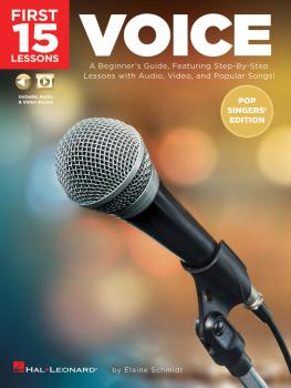 First 15 Lessons - Voice (Pop Singers' Edition): A Beginner's Guide, F (HL-00254122)
