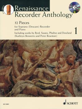 Renaissance Recorder Anthology - Volume 1: 32 Pieces for Soprano/Desca (HL-49044777)
