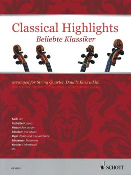 Classical Highlights (Arranged for String Quartet, Double Bass Ad Lib) (HL-49045370)