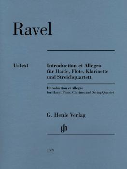Introduction et Allegro (for Harp, Flute, Clarinet, and String Quartet (HL-51481069)