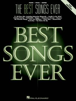 The Best Songs Ever - 9th Edition (HL-00265721)