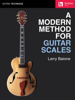 A Modern Method for Guitar Scales (HL-00199318)