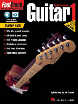 FastTrack Guitar Method - Starter Pack (HL-00264731)