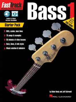 FastTrack Bass Method - Starter Pack (HL-00264732)