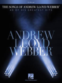 The Songs of Andrew Lloyd Webber (Viola) (HL-00102654)