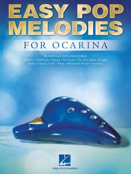 Easy Pop Melodies for Ocarina (HL-00275999)