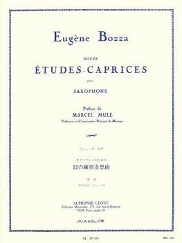 12 Etudes-Caprices for Saxophone: [Douze Études-Caprices pour Saxophon (HL-48181135)