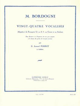 24 Vocalises (Adapted for Trumpet) (HL-48181350)