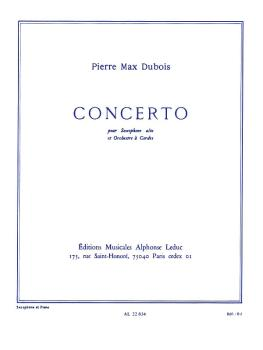 Concerto (for Alto Sax and Piano Accompaniment) (HL-48182023)