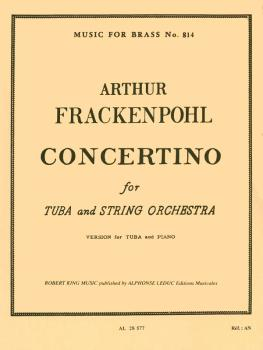 Concertino for Tuba (for Tuba and Piano Reduction) (HL-48185216)