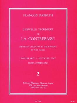 Nouvelle Technique de la Contrebasse - Volume 2: Méthode Complète et P (HL-48183630)