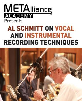 Al Schmitt on Vocal and Instrumental Recording Techniques (Metalliance (HL-00234017)