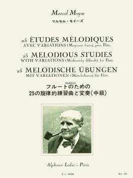25 Etudes Melodiques Avec Variations pour Flute (HL-48180523)